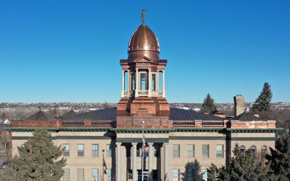 Great Falls, MT courthouse