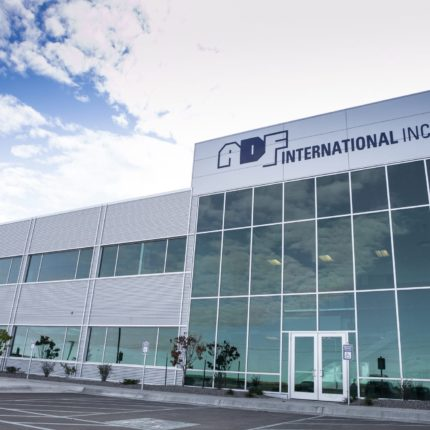 ADF International Inc. building from outside